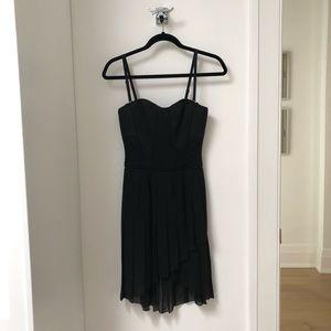 BCBG MaxAzria Black Strapless Dress. Size 0.
